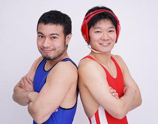 【TOPICS】人気お笑いコンビ「アマレス兄弟」