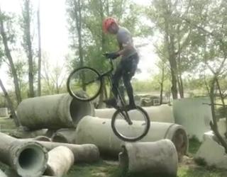 【近況報告】自転車トライアル競技の塩﨑太夢選手