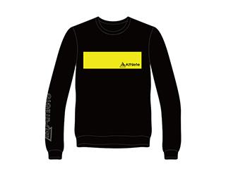 Athlete ドライロングTシャツ(ブラック)